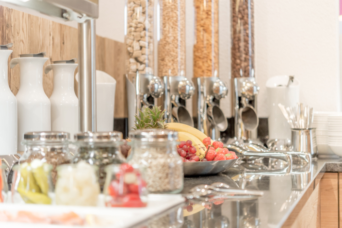 Hotel Mondin Ischgl Frühstücksraum