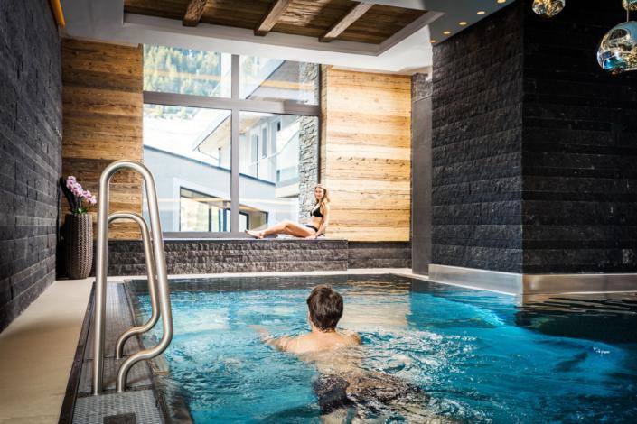 Hotel Mondin Ischgl Indoor Pool