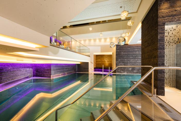 Hotel Mondin Ischgl Wellnessbereich