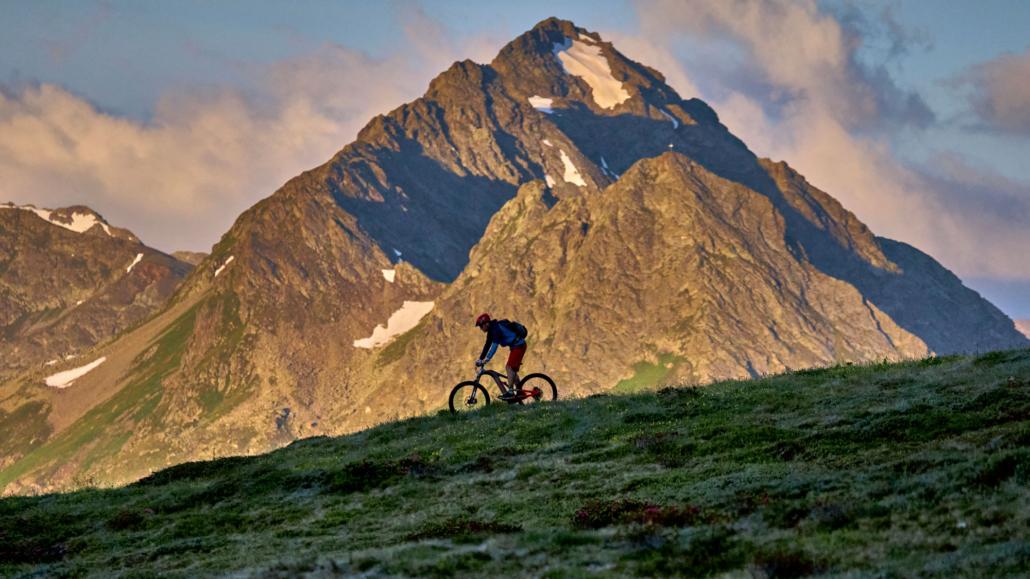 Sommer in Ischgl - E-bike