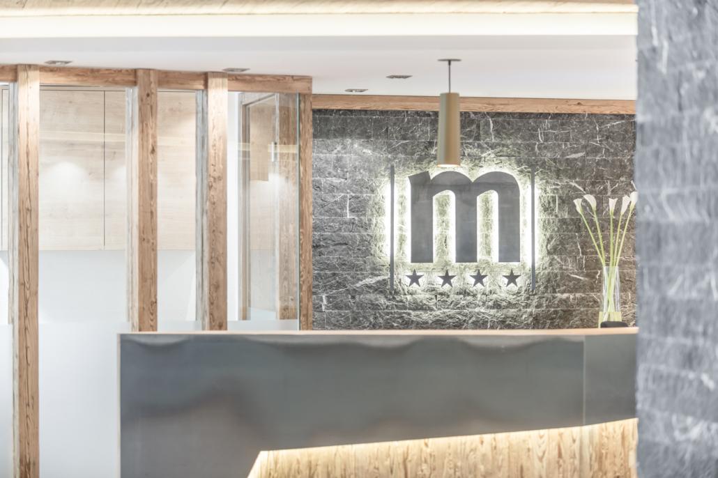 Hotel Mondin Ischgl Rezeption