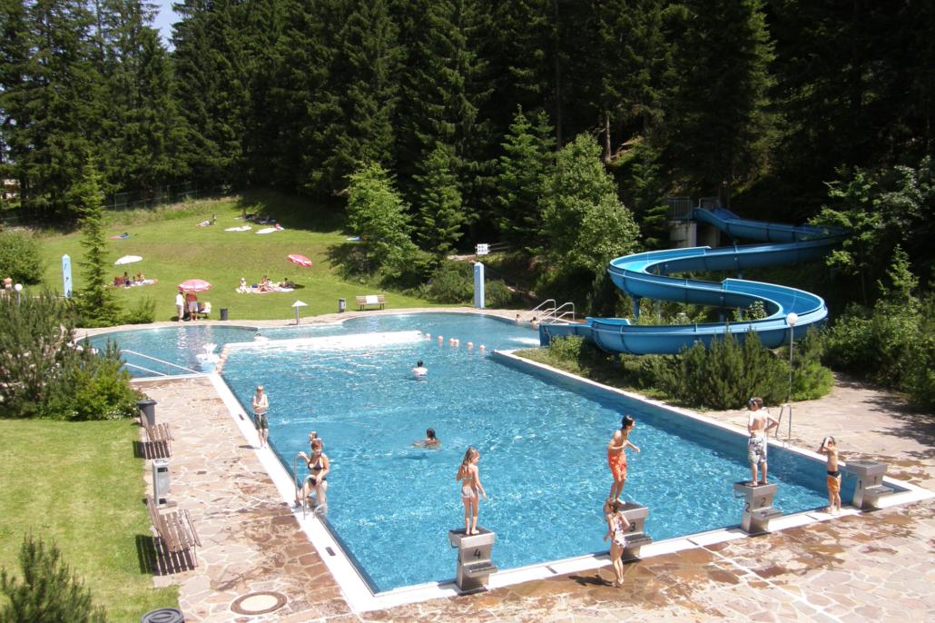 Sommer in Ischgl - Schwimmbad