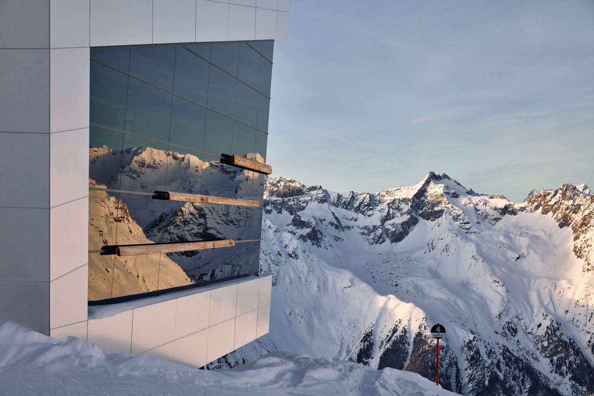 Winter in Ischgl - Skigebiet